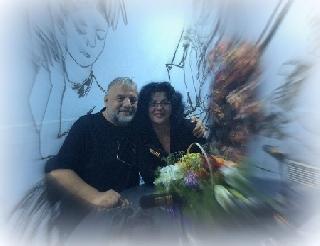 Fotografie Adrian Berinde si Sorina Goia la Music show.